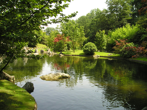 limburg hasselt japanse tuin